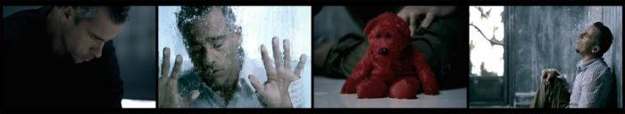 """Screenshots aus dem Video zu dem Song """"Solo ieri"""" von Eros Ramazzotti"""